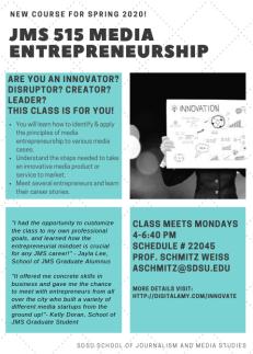515 Media entrepreneurship